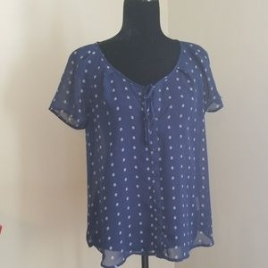 Old Navy short sleeve blouse
